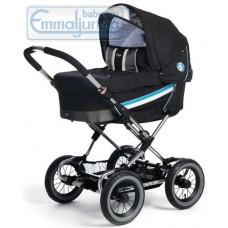 Спальная коляска Emmaljunga Edge Duo Combi PP Black Blue
