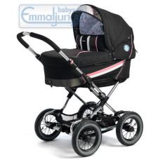 Спальная коляска Emmaljunga Edge Duo Combi PP Black Pink