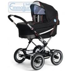 Спальная коляска Emmaljunga Edge Duo Combi PP Black Red