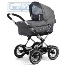 Спальная коляска Emmaljunga Edge Duo Combi Grey Carbonite