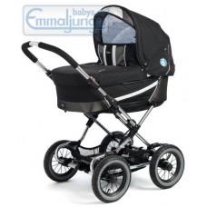 Спальная коляска Emmaljunga Edge Duo Combi PP Black