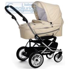 Спальная коляска Emmaljunga City Korg Creme Leatherette