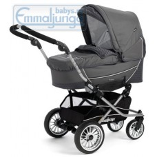 Спальная коляска Emmaljunga City Korg Grey Carbonite