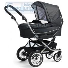 Спальная коляска Emmaljunga City Korg Jeans Black
