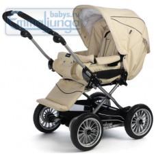 Прогулочная коляска Emmaljunga City Cross Creme Leatherette