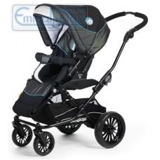 Прогулочная коляска Emmaljunga Ozone City PP Black Blue