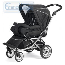 Прогулочная коляска Emmaljunga Nitro City Black