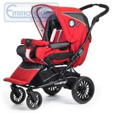 Прогулочная коляска Emmaljunga Nitro City PP Red