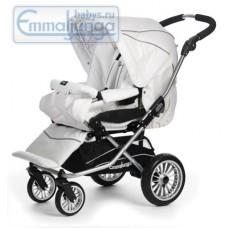 Прогулочная коляска Emmaljunga Nitro City White Leatherette