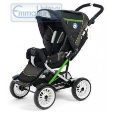 Прогулочная коляска Emmaljunga Scooter Black Lime